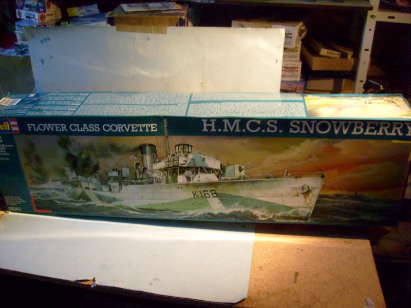 [REVELL ex Matchbbox] HMCS Corvette Snowberry  S7302392