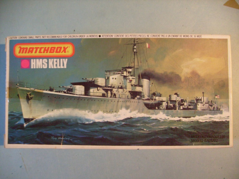 [MATCHBOX] Destroyer HMS KELLY 1/700ème Réf PK64 S7302452