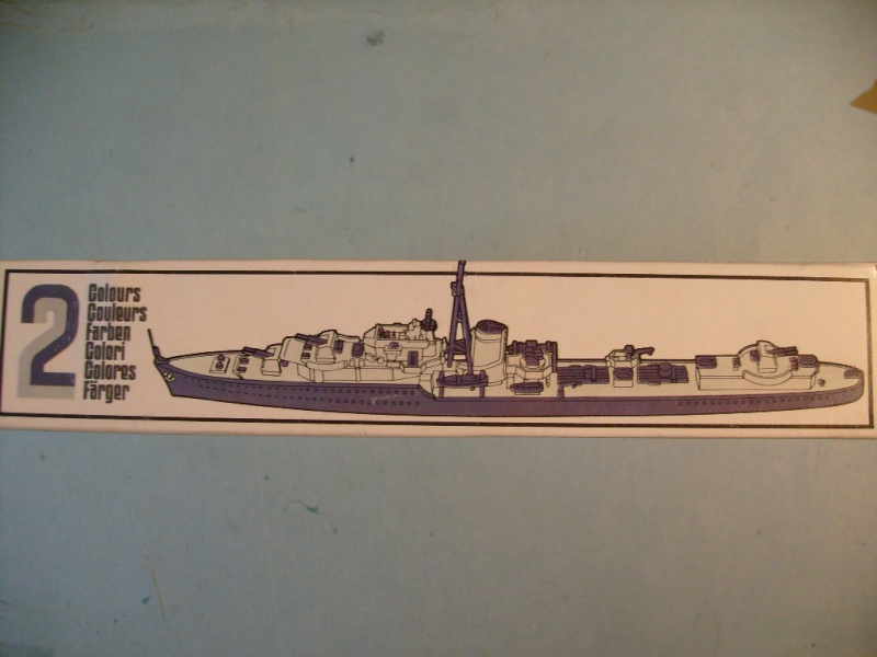 [MATCHBOX] Destroyer HMS KELLY 1/700ème Réf PK64 S7302455