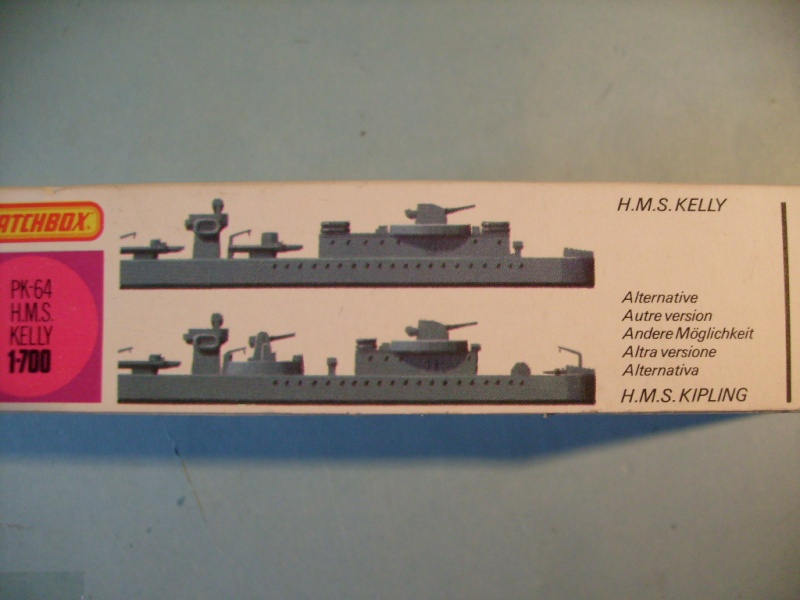 [MATCHBOX] Destroyer HMS KELLY 1/700ème Réf PK64 S7302456