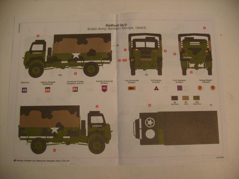 [Airfix] Bedford QLT & QLD Trucks S7302605