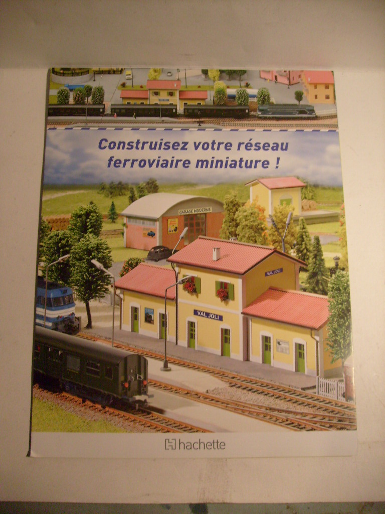 Construisez votre réseau ferroviaire, Hachette, octobre 2012 S7303655
