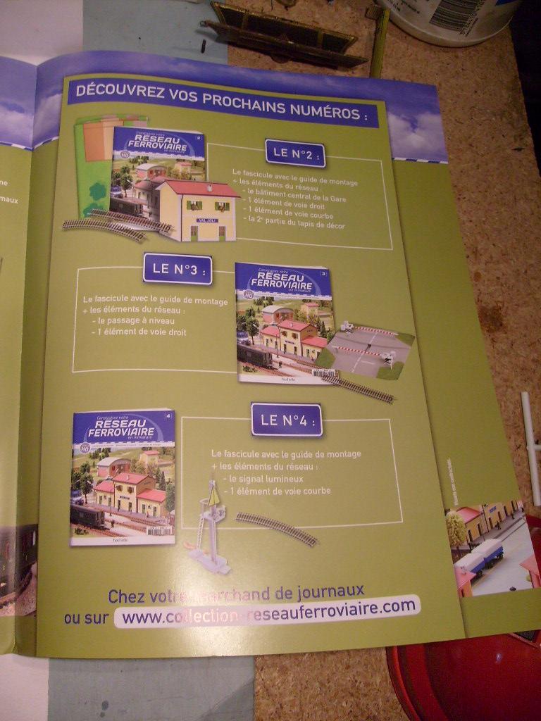 Construisez votre réseau ferroviaire, Hachette, octobre 2012 S7303657
