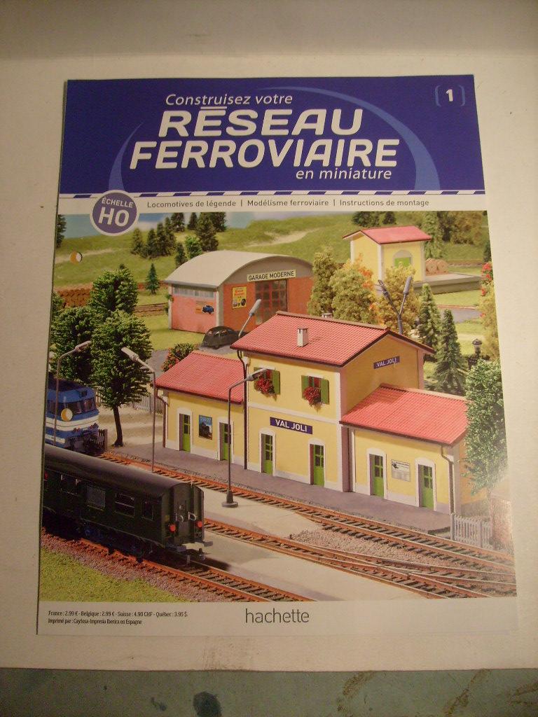 Construisez votre réseau ferroviaire, Hachette, octobre 2012 S7303662