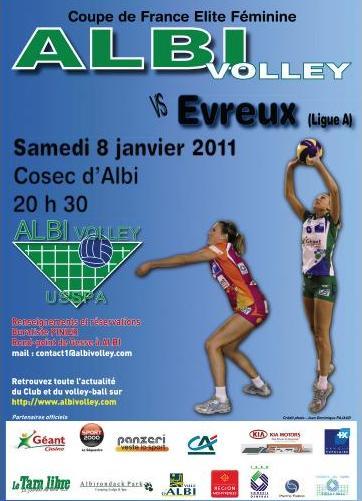1/8ème de finale de la Coupe de France USSPA-Evreux Albiev12