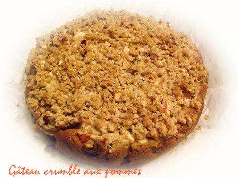 Gâteau crumble aux pommes Gateau17