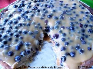 Tarte cochonne aux bleuets P1120710