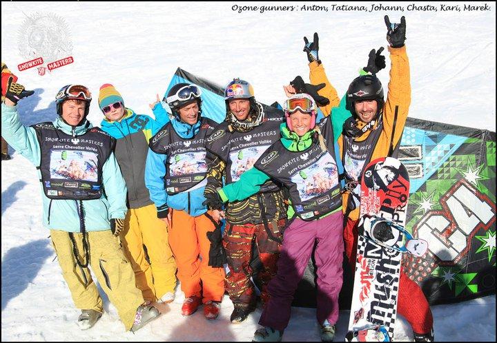 Carton pour ozone au snowkite masters 2011 16617510
