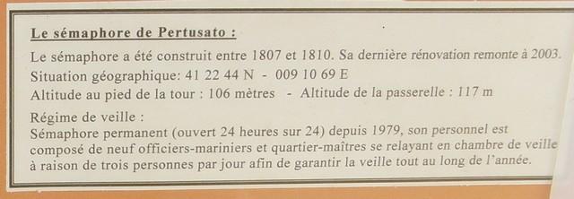 [ Les sémaphores - divers ] Les sémaphores en Corse vus par Corse Matin 4_110