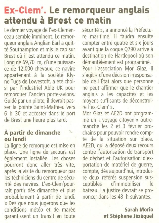 Démantèlement du Clemenceau et Colbert... - Page 6 Numari10
