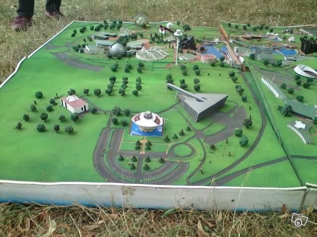 Ancienne maquette du Parc 40562410