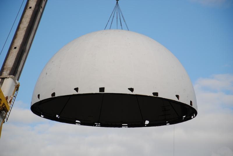 Boule du Futuroscope : démontage, reconstruction, scénographie (2012-2014) - Page 7 Dsc_0420