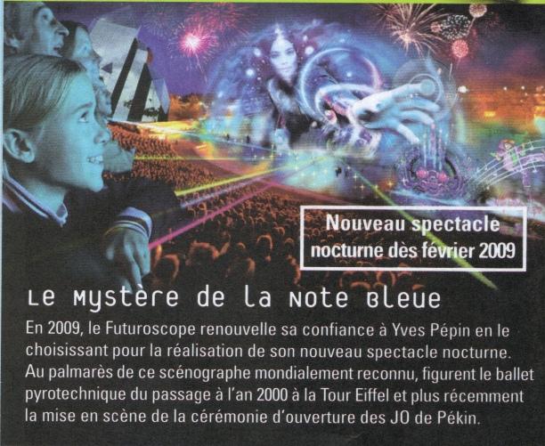 Le Mystère de la Note Bleue (spectacle nocturne) – 2009-2012 - Page 3 Notebl10