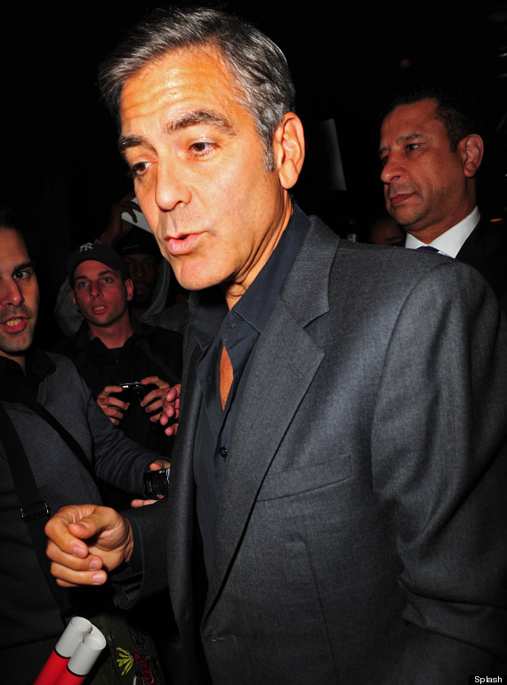 Is George Clooney overdoing it on the fake tan? Fake_t10