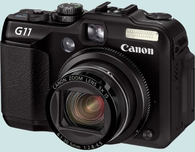 2009/2010 :  Canon PowerShot G11 Canong10