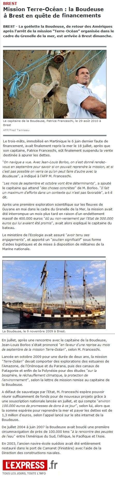 [LA BOUDEUSE] 01/06/10 - Arrêt de la mission Terre-Océan Laboud10