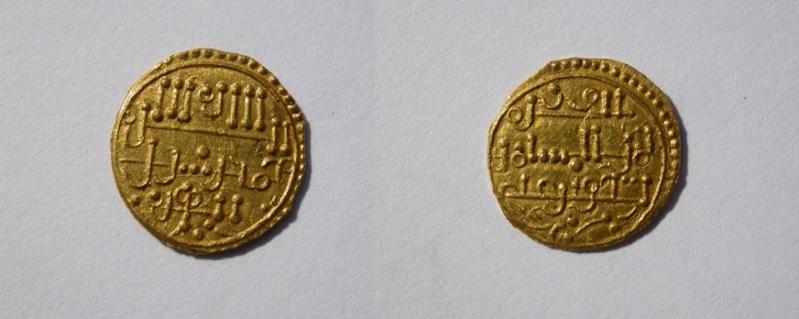 dinar ali b yusuf - Dinar de Isaq ben Alí (Falsificación moderna) Oro_1c12