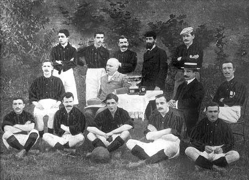 1900-1901: premier Scudetto et premier doublé Milan-10