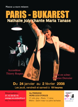 Paris - [musique] PARIS-BUKAREST - Nathalie Joly chante Maria Tanase Tract_10