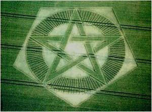 Agroglyphes - Cercle de culture (Crop Circle) Cercle14