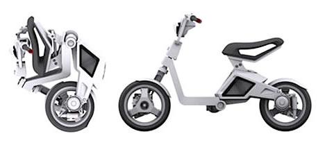 Scooter électrique pliable... Mit-fo10