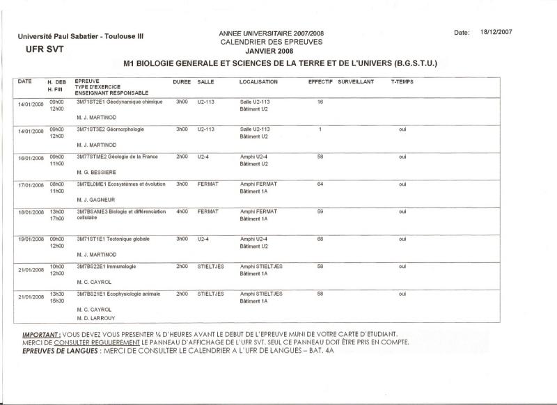 calendrier des exams Exams_14