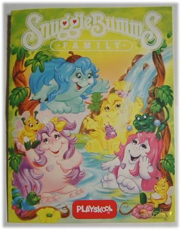 SNUGGLEBUMMS / Les Bum Bum (MB - Playskool) 1984 Livret11