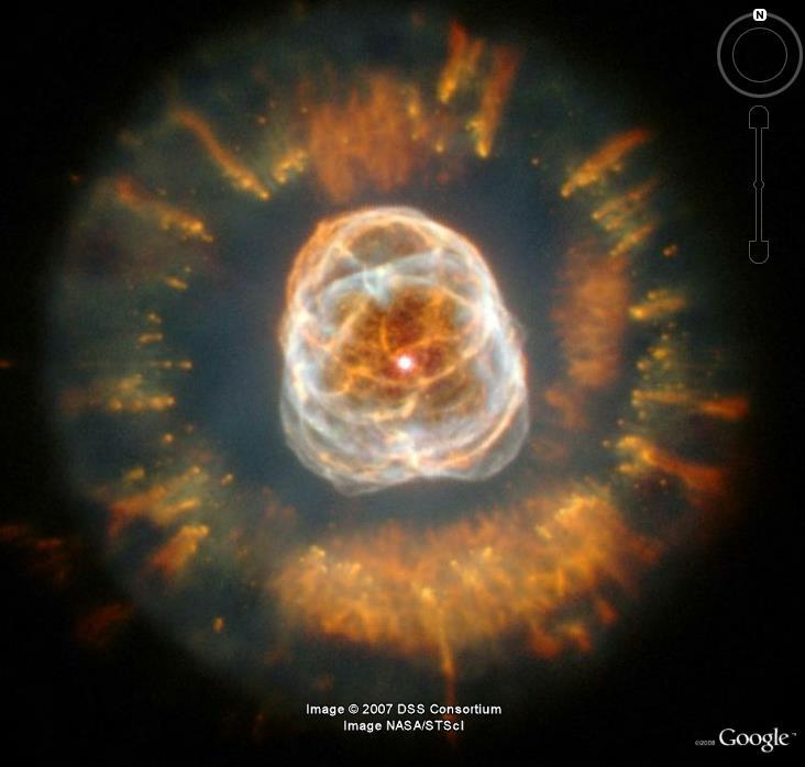 Nébuleuse de l'esquimau, type planétaire, NGC 2392 B_nebu10