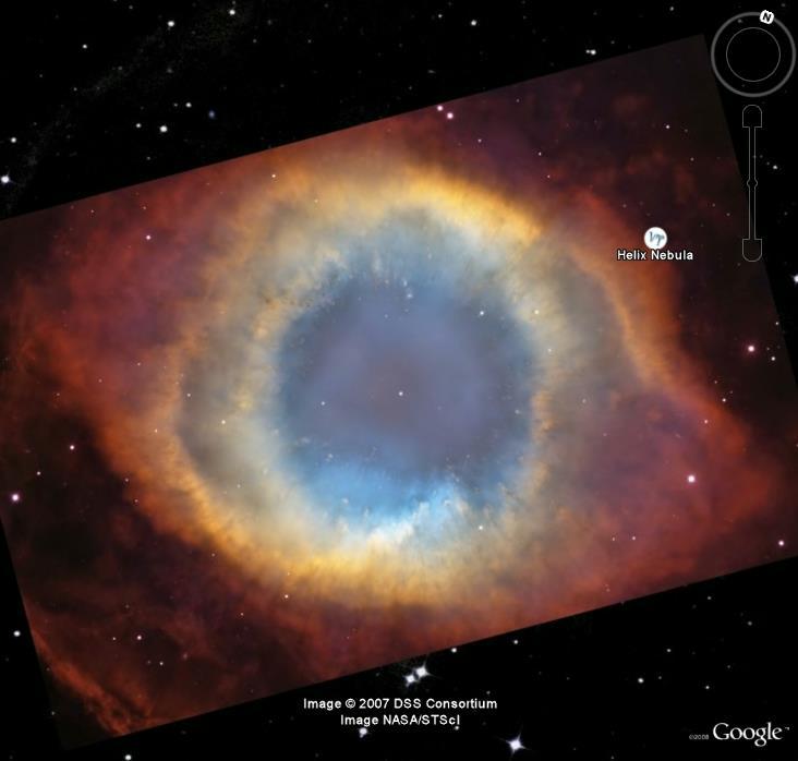 Spitzer, NGC 7293 nébuleuse de l'hélice B_spit11