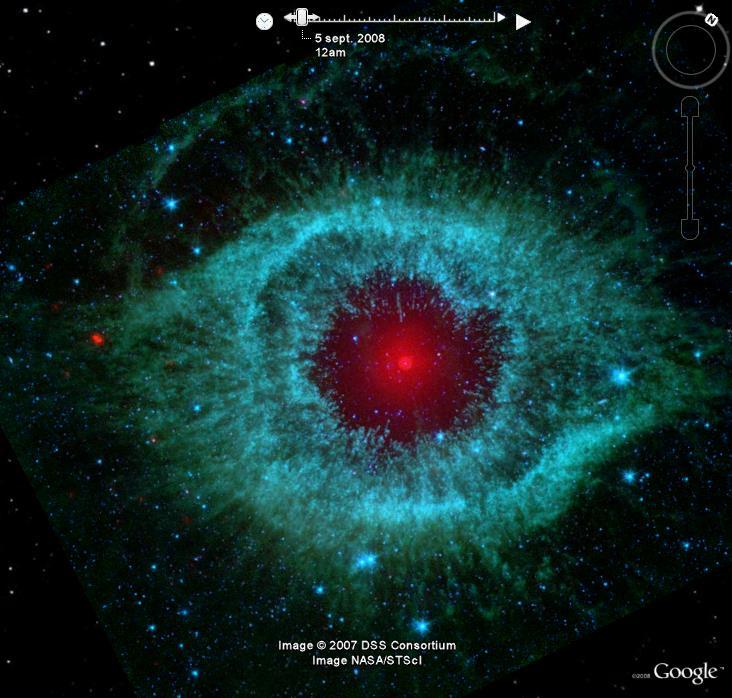 Spitzer, NGC 7293 nébuleuse de l'hélice B_spit12