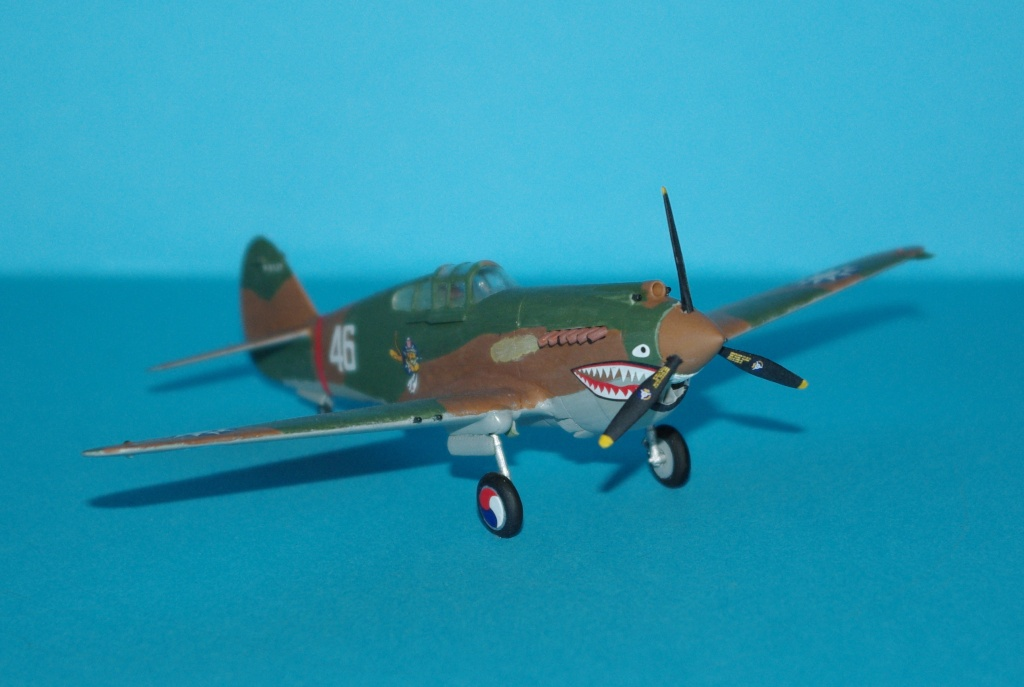 P40 C trumpeter 1/72 Flying tiger Imgp5113