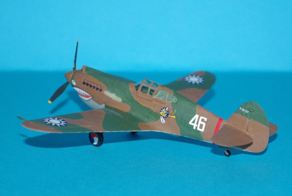 P40 C trumpeter 1/72 Flying tiger Imgp5210