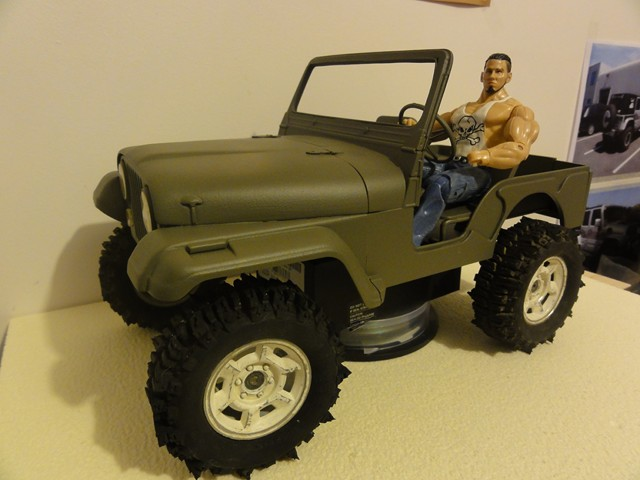 Jeep cj5 au 1/10 there's is only one ... C2_64010