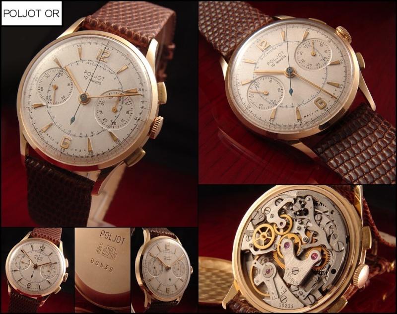 les montres russes haut de gamme existent elles ? Poljot10