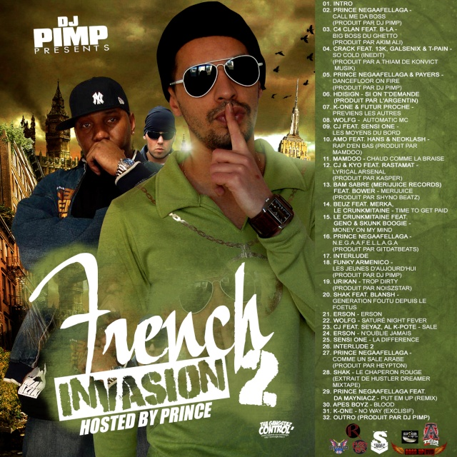 dj pimp / french invasion 2 / + concours... French10