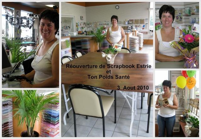 Photos: Réouverture de Scrapbook Estrie et Ton poids Santé Ouvert10