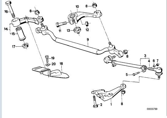 bmw e34 530i an 1989 volant qui tremble a l 39 acceleration. Black Bedroom Furniture Sets. Home Design Ideas