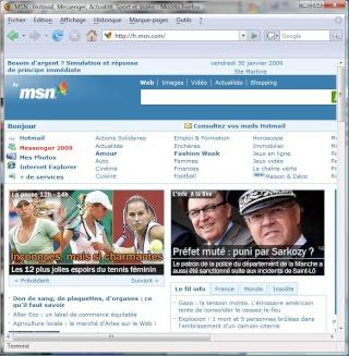 user agent sfr - [TUTO] Partage Internet via PDA et User Agent Touch HD (màj) Accuei11