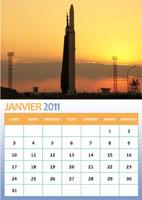 calendrier spatial 2011 Calend10