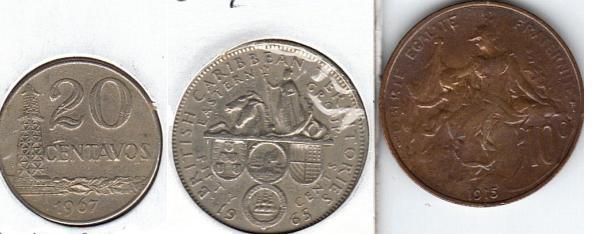 Símbolos e iconos de las monedas. Varias11