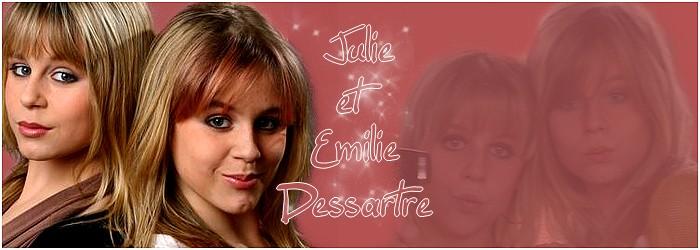 Julie et Emilie Dessartre