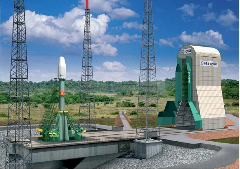 Etat d'avancement du chantier Soyouz en Guyane (Sinnamary) - Page 2 Soyouz10
