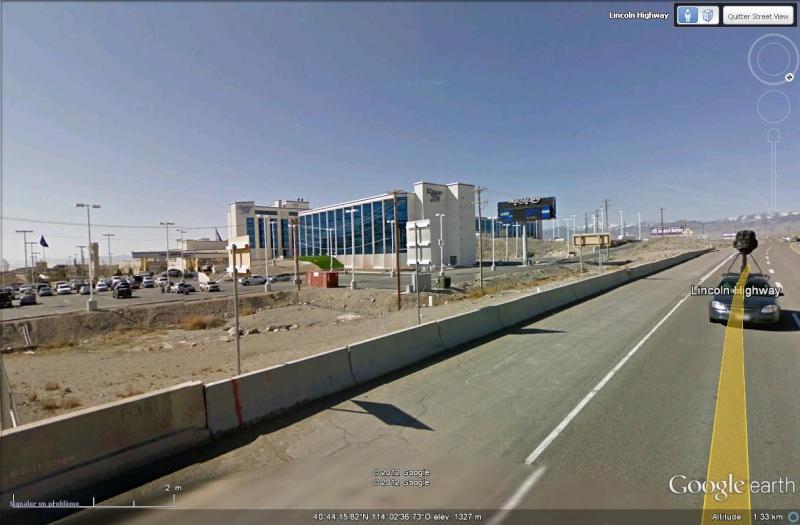 STREET VIEW : un casino en plein désert ? Normal, on arrive au Nevada ! Sans_137