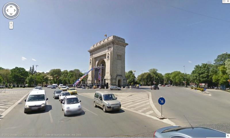 [Roumanie] - BUCAREST : l'Arc de Triomphe  Sans_437