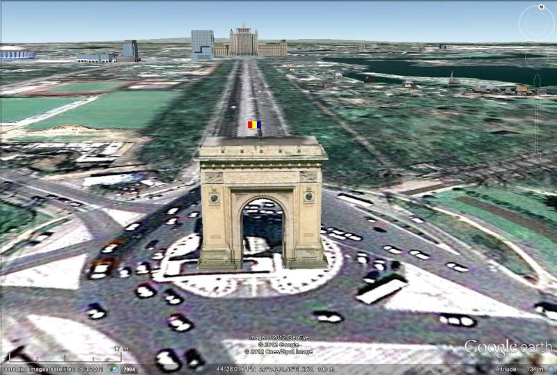 [Roumanie] - BUCAREST : l'Arc de Triomphe  Sans_438