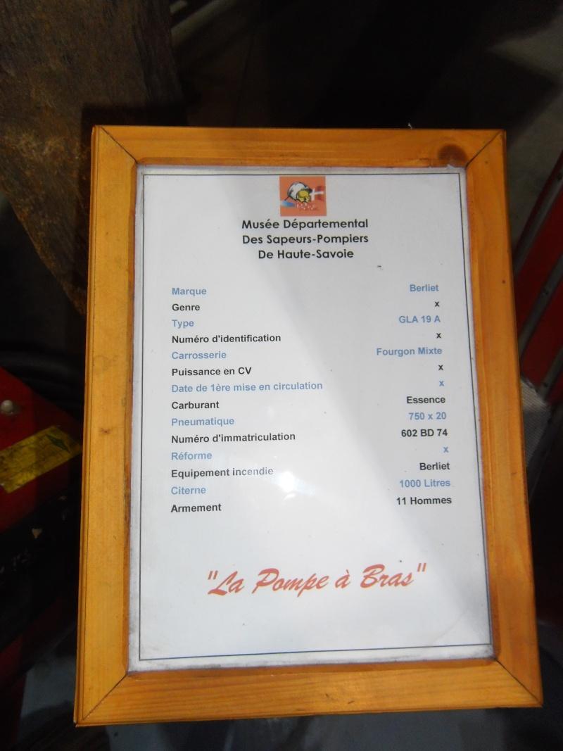 MUSEE des pompiers de SCIEZ (HAUTE SAVOIE) Geneve25