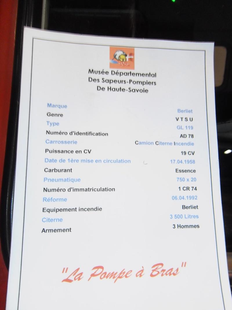 MUSEE des pompiers de SCIEZ (HAUTE SAVOIE) Geneve37