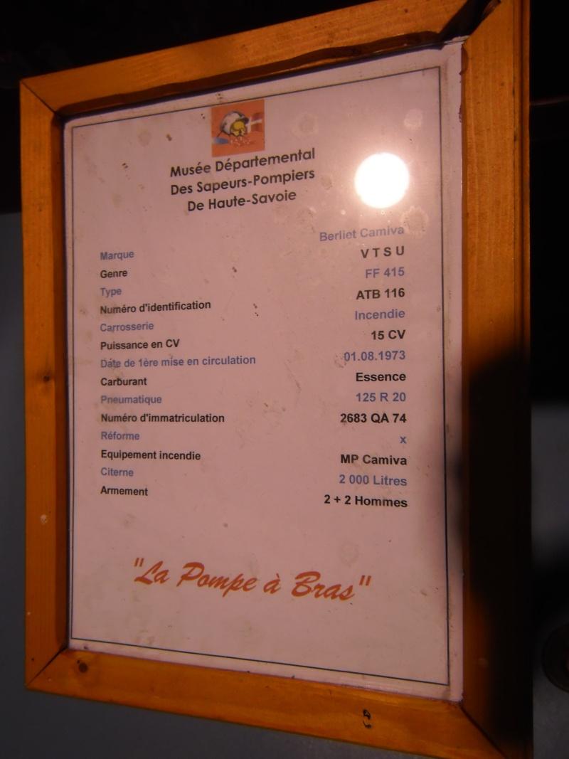 MUSEE des pompiers de SCIEZ (HAUTE SAVOIE) Geneve44
