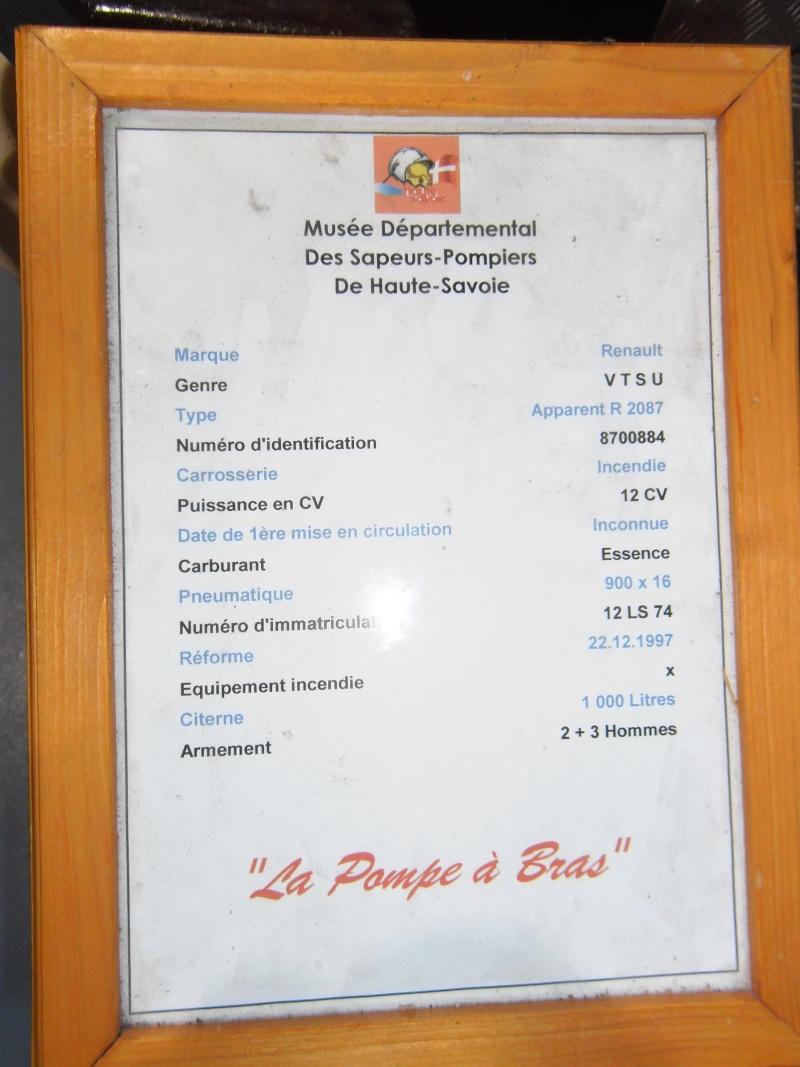 MUSEE des pompiers de SCIEZ (HAUTE SAVOIE) Geneve48
