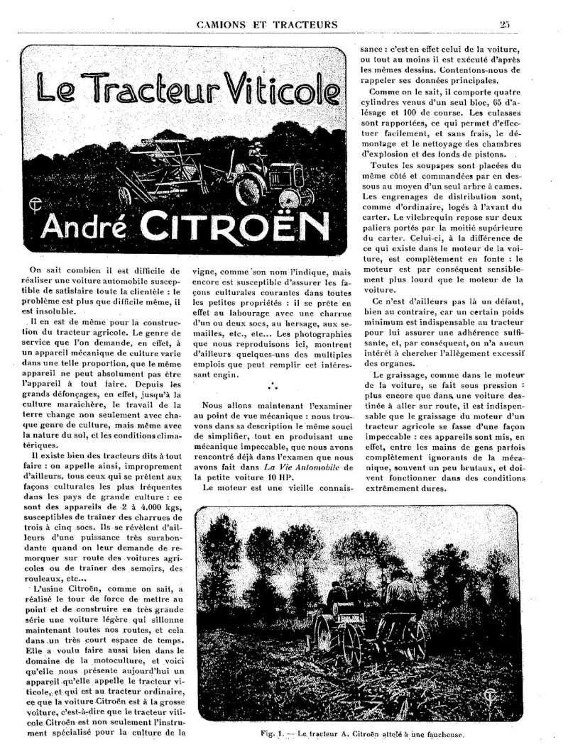 tracteur CITROËN Tracte19
